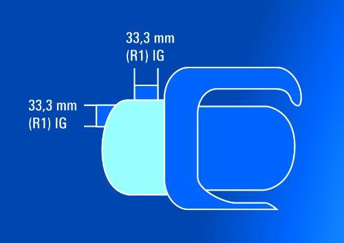 Einhell Gartenpumpe BG-GP 1140 N (1100 W, 4000 l/h, max 35 °C, 4,3 bar, 43 m max Förderhöhe, Edelstahlgehäuse) -