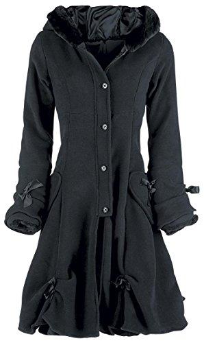 Poizen Industries Alice Coat Cappotto donna nero S