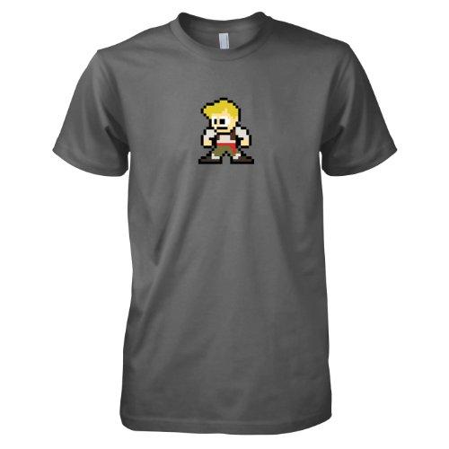TEXLAB - Pixel Island - Herren T-Shirt Grau