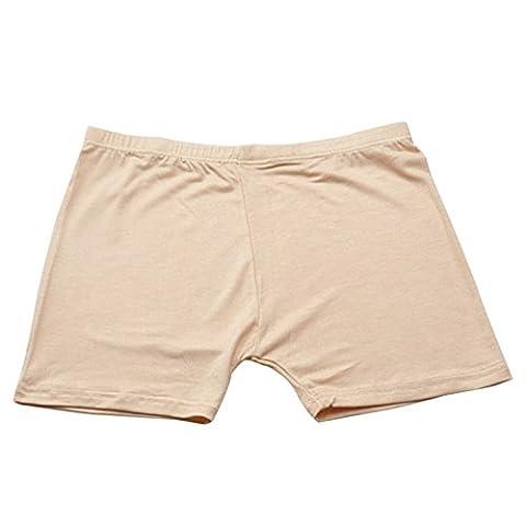Etopfashion Safety Shorts Women Pants Leggings Seamless Basic Plain Underwear