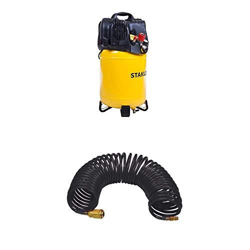STANLEY Compressor D200/10/24V + Spiralschlauch 10 Meter
