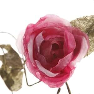 Rose Garland - Deep Pink