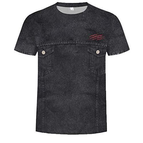 fd37debd726cc8 Btruely-herren Camouflage T-Shirt Männer Slim Tops Army Style Tarnhemd für  Herren Kurzarm
