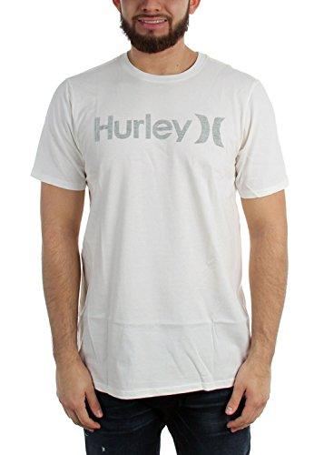 Hurley Männer und Pushthru Premium T-Shirt, Large, Sail A (Hurley-t-shirt Shorts)