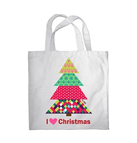 Tragetasche Fitness Weihnachten I Colour Einkauf 0080 Weihnachtsbaum ...
