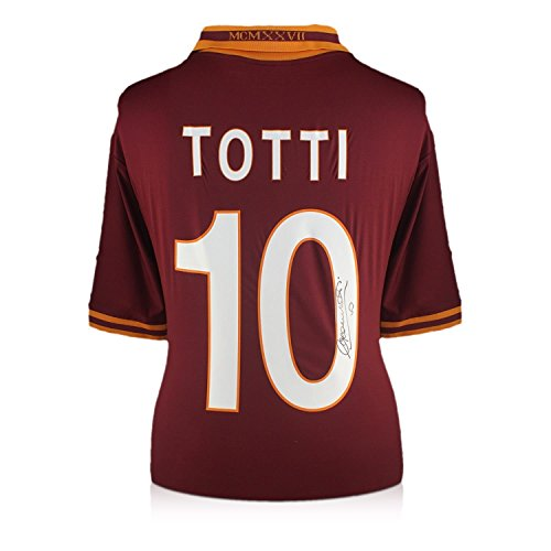 Exclusive Memorabilia Francesco Totti AS Roma 2013-14 Heimtrikot signiert