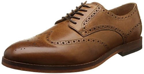 hudson-talbot-zapatos-de-cordones-para-hombre-marrone-marron-calf-tan-talla-41
