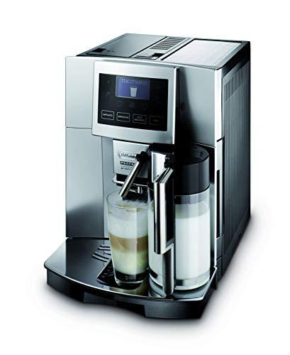 De'Longhi ESAM5600freistehend vollautomatisch Maschine Espresso 1.7L Edelstahl-(freistehend, Maschine Espresso Kaffeemaschine, Edelstahl, 1,7l, Kaffeebohnen, gemahlener Kaffee, Vollautomatisch)