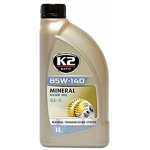 K2getriebeöl GL5, 85W de 140, boîte de vitesses, achsenöl, hydrauliköl, minéral, utilisation universelle, API conforme 1L pas cher