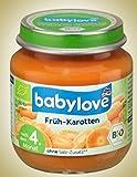 babylove Gemüse Früh-Karotten nach dem 4. Monat, 10er Pack (10 x 125 g)