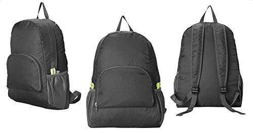Preisvergleich Produktbild Hosaire 1 Stück Backpack Fahrradrucksäcke Nylon Wasserdicht Faltbar Rucksack für Outdoor Wandern Camping,Reise Bergsteigen Tasche