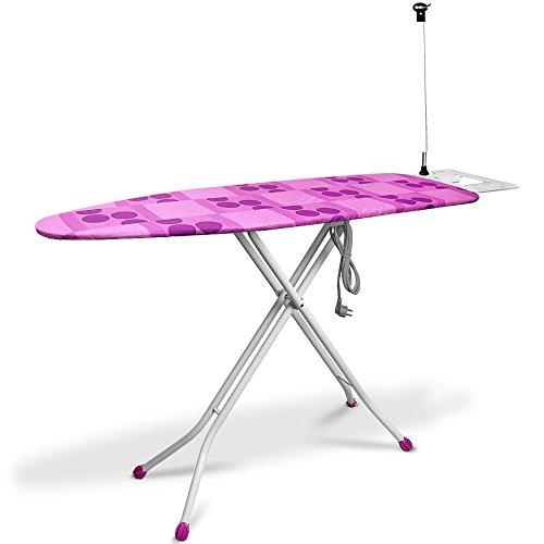 Table à repasser - 140x38cm - Raccordement électrique - Planche à repass