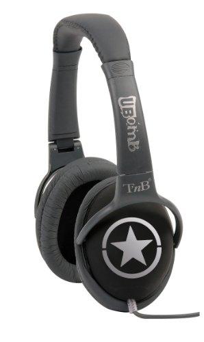 T 'nB uBomb Stars Stereo-Kopfhörer für iPod/mp3-Player/mp4-Player/Handys, Schwarz Block Ipod