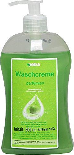 Cremeseife Pumpflasche 500ml (12 Stück, Grüner Apfel)