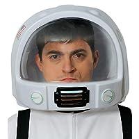 Adults Ladies Mens Space Astronaut Helmet Hat Explorer TV Book Film Carnival Fancy Dress Costume Outfit Accessory