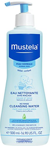 Mustela Physiobebe No Rinse Cleansing Fluid 500ml