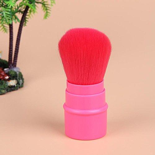 Domybest télescopique Brosse Cosmétique Poudre Brosse Pinceaux de maquillage Portable