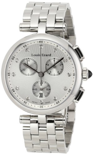 Louis Erard Women's 12820AA11.BMA25 Romance Silver-Tone Stainless Steel Watch