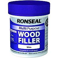 Ronseal RSLMPWFW250G - Masilla multiusos para madera (250 g), color blanco