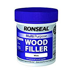 Ronseal Multi-Purpose Wood Filler - White 250g