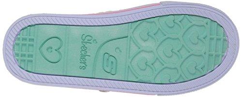 Skechers Mädchen Shuffles Sneakers Weiß (wpmt)