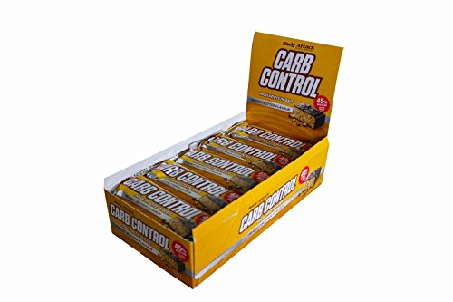 Body Attack Carb Control Protein Riegel 20x 100g, Peanut Butter, 20x100g (Carb Control)