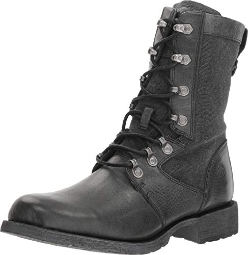 Durango Drifter Women's Black Military Inspired Lacer Boot Lacer Boots