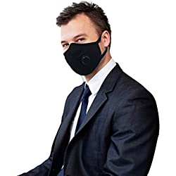 Grin Health Anti-Pollution Mask - Black (Standard, N-Series: N99)