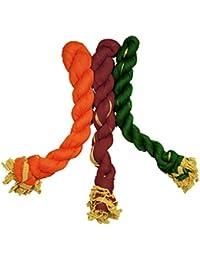 Dupatta (Weavers Villa Set Of 3 Multicolor Chiffon Dupattas (70 Different Colour Set Combinations Available)) - B06XCY47NM