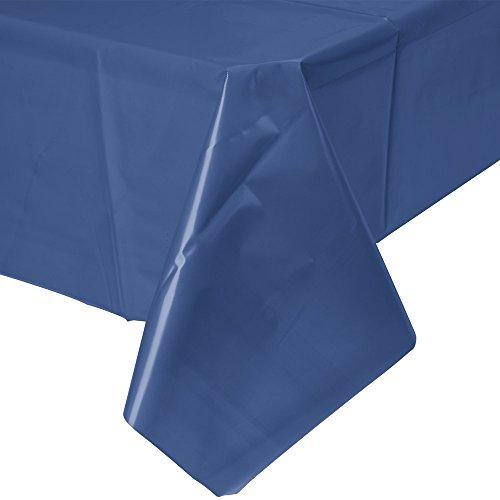 Amscan-Mantel-de-plstico-rectangular-color-azul-oscuro-77015-74A