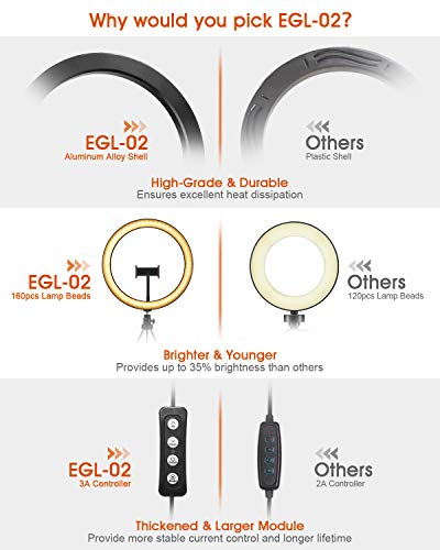 Zoom IMG-6 elegiant luce per selfie 10