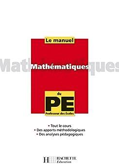 La manuel de Mathématiques du PE (Manuel du PE)