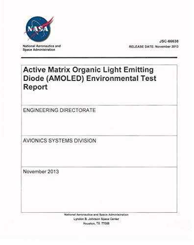Active Matrix OLED Test Report (English Edition)