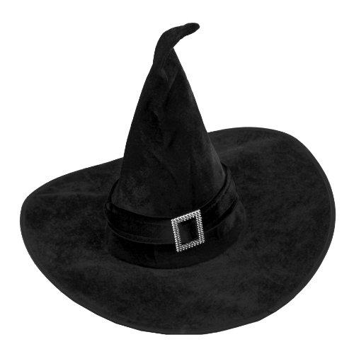 Hexe Kostüm Diamant - SYMTOP Kostümzubehör Halloween Party Prop Damen Kostüm Hexe Witch Hut mit Diamant