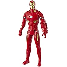 "Marvel Avengers: Endgame Titan Hero Series Iron Man 12""-Scale Super Hero Action Figure Toy with Titan Hero Power Fx Port"