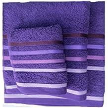 Juego toallas 3 piezas. 100% algodón ALTA CALIDAD. 520 gr/m2.