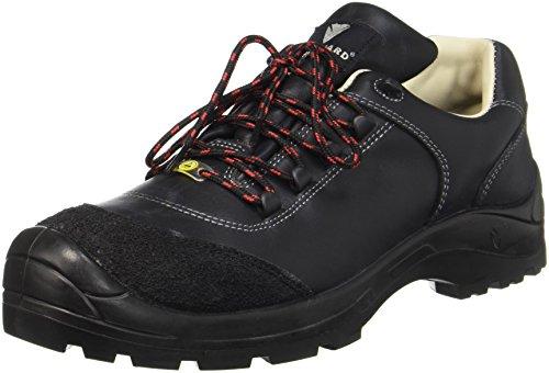 Maxguard ALEX 900216 - Zapatos de protección de cuero para unisex-adultos, color negro, talla 46