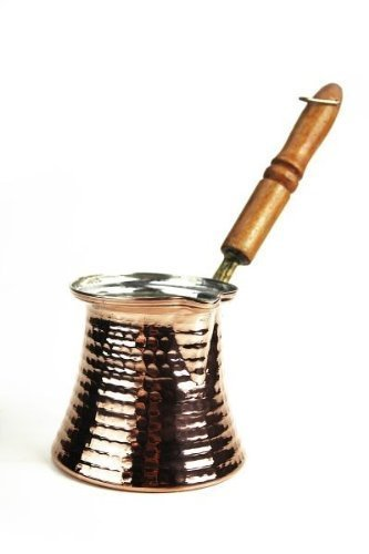 'CopperGarden' Pote de café turco de cobre estañado (M)