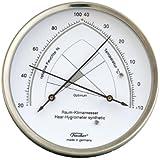 Habitación climática Cuchillo, higrómetro de cabello Synthetic, combina con termómetro, diámetro 130mm