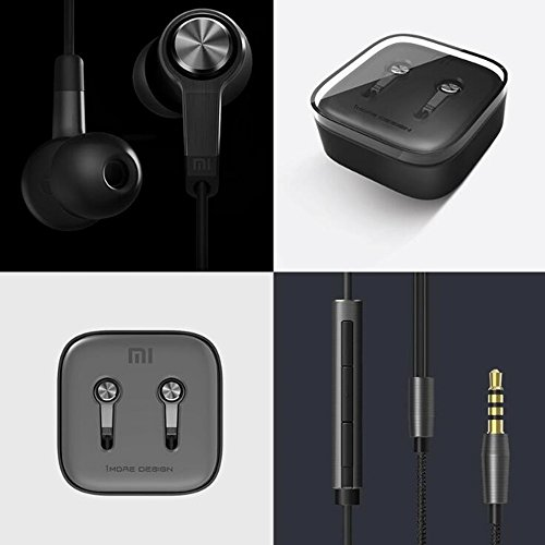 wanhuixing Neue Hirse M5 Sterne Titan Kolben Bass Kopfhörer für Apple iPhone / Android / Samsung / Millet