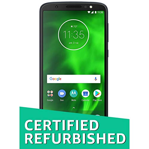 (Certified REFURBISHED) Moto Moto G6 XT 1925 (Indigo Black, 64GB)