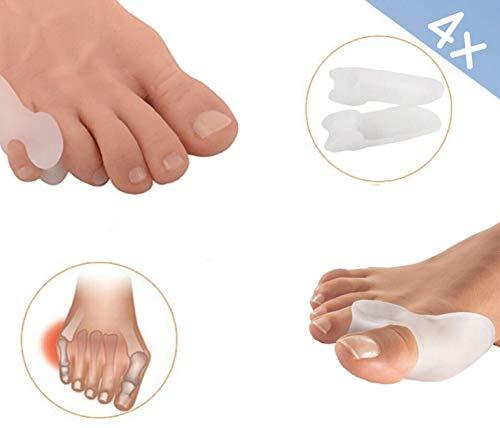 Siamed zehensp reizer set i grande e piccolo piede i per il trattamento del alluce valgo i morbido e confortevole i in silicone soft gel