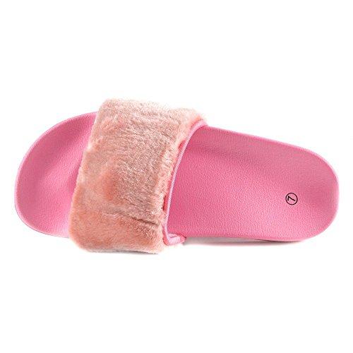 Kick Footwear  Kick Footwear, Sandales pour femme Rose