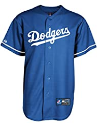 Majestic los angeles dodgers mLB cool base maillot bleu