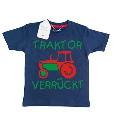 Baby & Kleinkind Marine T-shirt 62-68 \'TRAKTOR VERRÜCKT\'\'