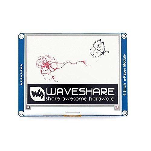 Preisvergleich Produktbild Makibes 4.2 Inch E-Ink Display Module 400x300 Three-color for Raspberry Pi/Arduino/STM32