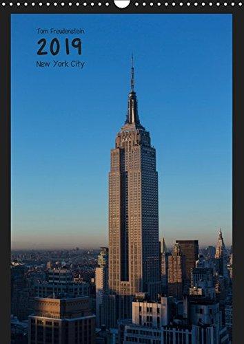 Vertical New York (Wandkalender 2019 DIN A3 hoch): Ansichten New Yorker Wolkenkratzer (Monatskalender, 14 Seiten ) (CALVENDO Orte)