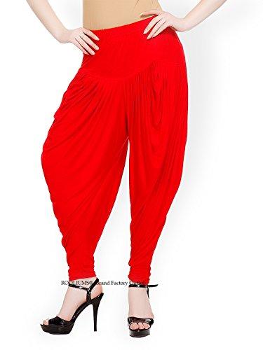 ROOLIUMS® (Brand Factory Outlet) Women / Girls Hosiery Dhoti Style Salwar -...