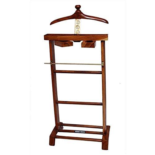 Roger & Moris Wooden Coat Stand (Teak)