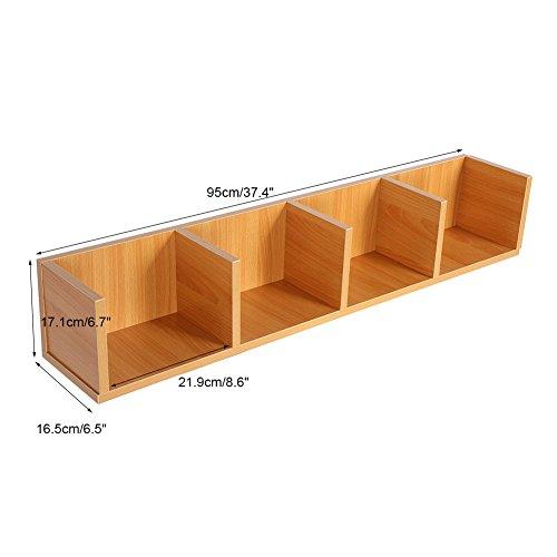 Zerone Mensola porta CD DVD, CD/DVD di legno multimediale unità ...
